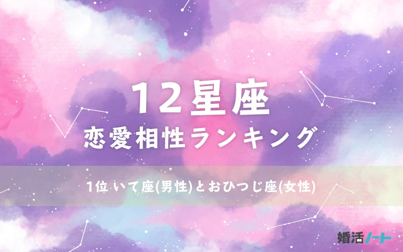 12星座恋愛相性ランキング
