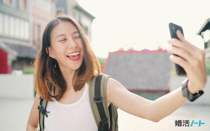 マッチングアプリのプロフィール写真の撮り方